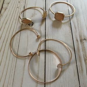 Rose Gold Bracelet Collection